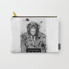 Monkey Mugshot Carry-All Pouch