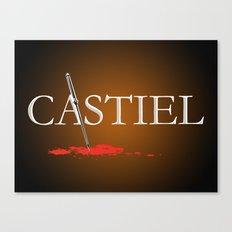 Castiel Canvas Print