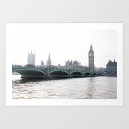 The parliament II Art Print