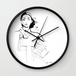 Ethnic Beauty - Korea Wall Clock