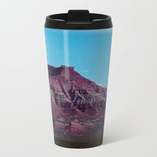 Red Mountain (La Verkin, Utah) Metal Travel Mug