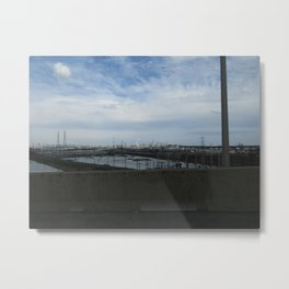 New Jersey Turnpike Metal Print