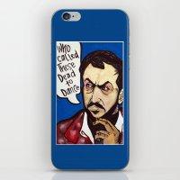 stanley kubrick iPhone & iPod Skins featuring Kubrick by Hugo Maldonado