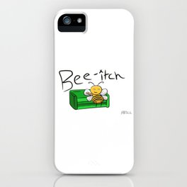 Bee-itch iPhone Case