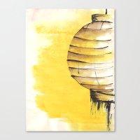 lantern Canvas Prints featuring Lantern by Emma Stein