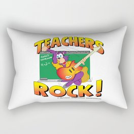 Teachers Rock Merchandise Rectangular Pillow