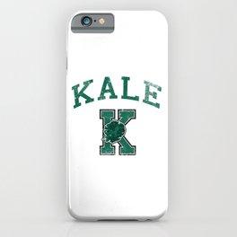 University of Kale iPhone Case
