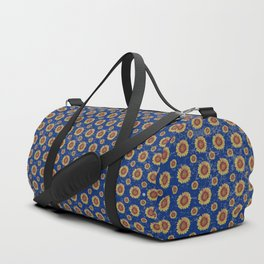 Swirly Sunflower Duffle Bag