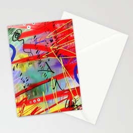Abstract Urban Art Stationery Cards
