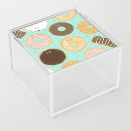 Donuts! Cute and yummy donut friends. Acrylic Box