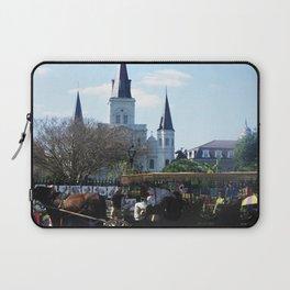New Orleans Castle Laptop Sleeve