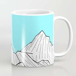 Glacier Mounts Coffee Mug