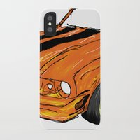 mustang iPhone & iPod Cases featuring Mustang by Portugal Design Lab
