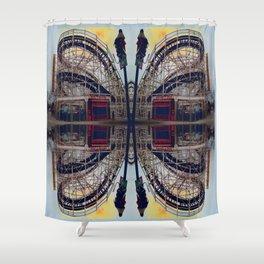 Cyclone Mandala2 Shower Curtain