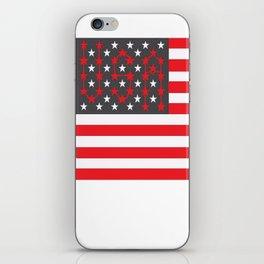 Flag U.S. American United States USA iPhone Skin