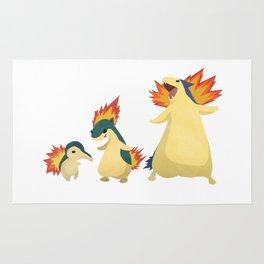 Fiery Family #2 Rug