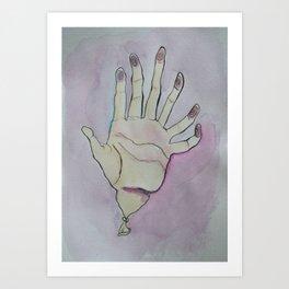 Sensitive Art Print