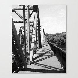 Delaware Bridge Canvas Print