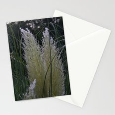 white grass Stationery Cards
