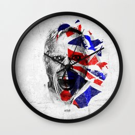 Britain's got Prodigy - White & Color Series #1 Wall Clock
