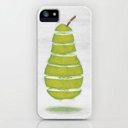 A Pear Apart iPhone Case