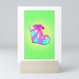 The Priss High-Heel Stiletto Mini Art Print
