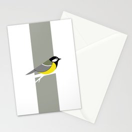 Parus Major 01 Stationery Cards