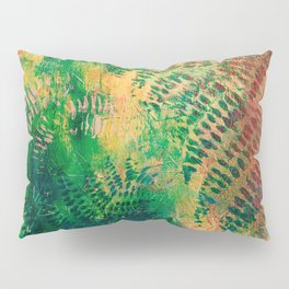 Ferns in color Pillow Sham
