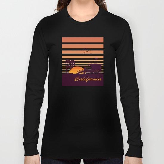 California surfing Long Sleeve T-shirt