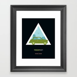 Icotrip - Trabant601 Framed Art Print