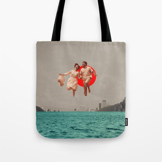Don't Look Back Tote Bag
