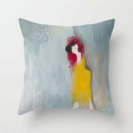 Feeling Cool Throw Pillow