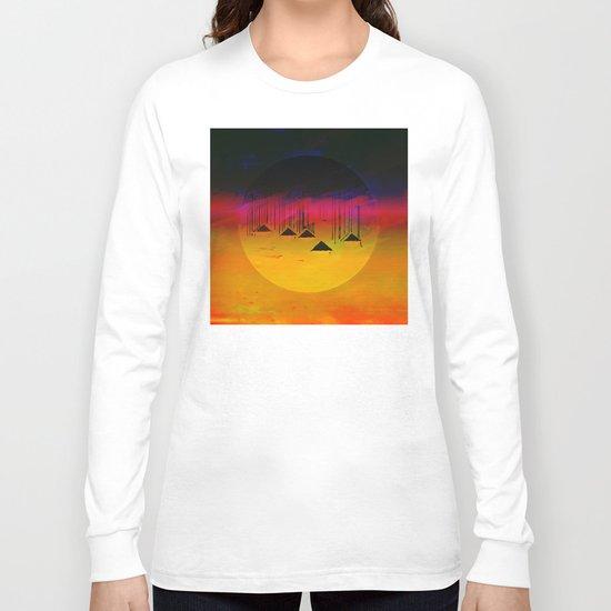 Pink Horizon / Archipelago 24-01-17 Long Sleeve T-shirt