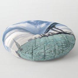 Coronado Bridge Floor Pillow