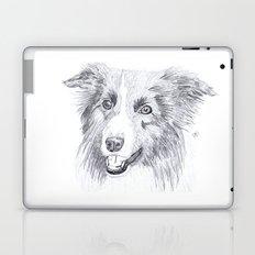 Border Collie Sketch Laptop & iPad Skin