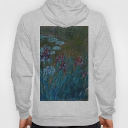 "Claude Monet ""Irises and Water-Lilies"", 1914 - 1917 Hoody"