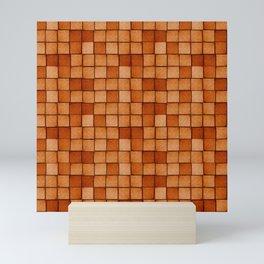 Wood Blocks-Maple Mini Art Print