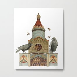 Of Hive and Home // Polanshek Metal Print