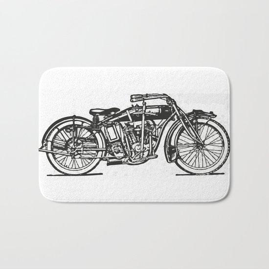 Motorcycle 2 Bath Mat