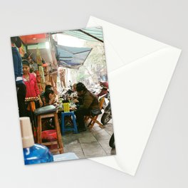 Lunch In Hanoi Stationery Cards