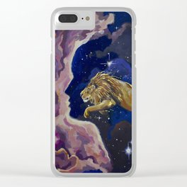 Aslan Is On the Move Clear iPhone Case