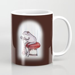 Sewing Frog Coffee Mug