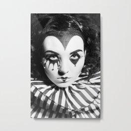 Noir Pitre Metal Print