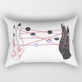 The Moon Players Rectangular Pillow