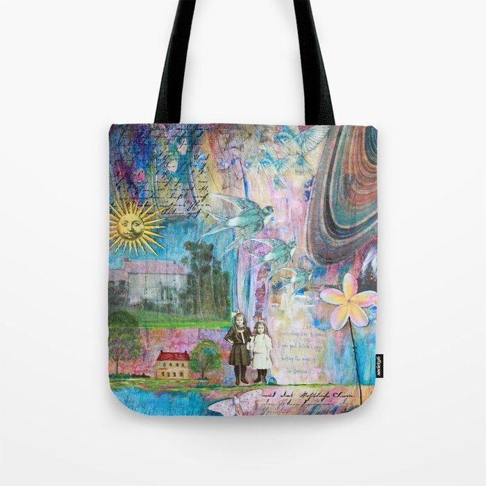 Transcending Time Tote Bag