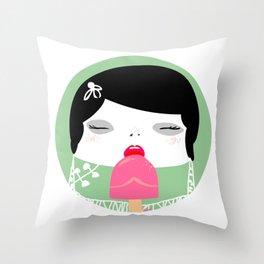 EROTIK Throw Pillow