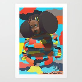 Wrapped in Color Art Print