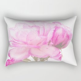 Light Pink Blend Rose #1 #floral #decor #art #society6 Rectangular Pillow