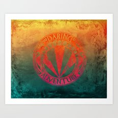 Daring Adventure Art Print