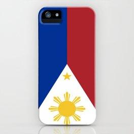 Philippines Flag (Vintage / Distressed) iPhone Case